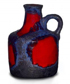 Lava Jug Red Blue 010