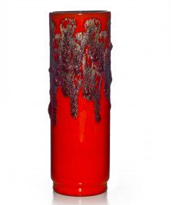 Lava Vase Orange 013