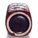 Lava Vase Red Black 015 3