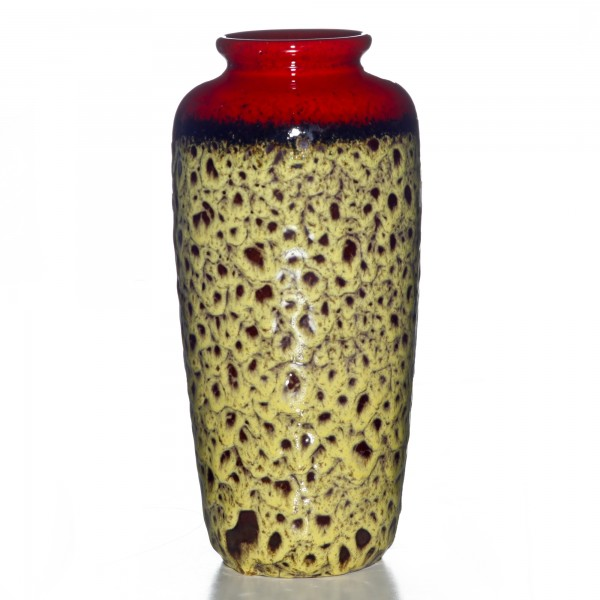 Lava Vase Yellow 017