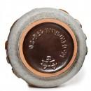 Lava Vase Brown Turq 022 3