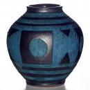 Vase Geo Textured 026 2