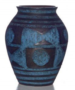 Vase Geo Textured 027
