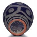 Vase Geo Textured 029 3