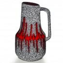Lava Pitcher Red White 032 2