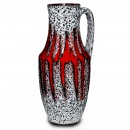 Lava Pitcher Red White 033 2