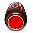 Lava Vase Red Black 037 2
