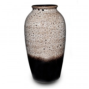 Vase Brown Speckled 040