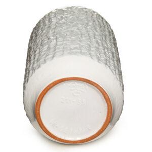 Vase White Glaze 042