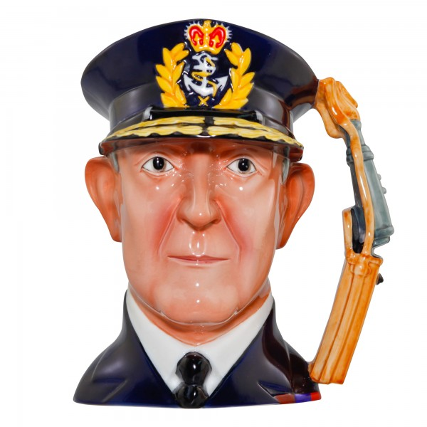 Admiral Lord Cunningham Large Character Jug