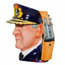 Admiral Lord Cunningham Large Character Jug 2