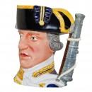 Admiral Lord Hood Large Character Jug 2