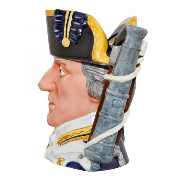 Admiral Lord Hood Large Character Jug