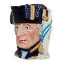 Admiral Lord Howe Large Character Jug 2