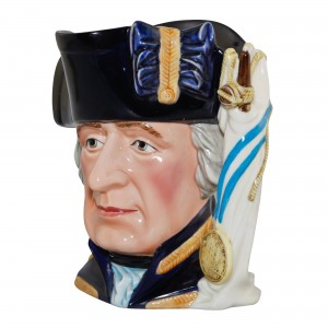 Admiral Lord Howe Large Character Jug