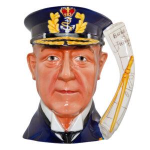 Admiral Lord Jellicoe Large Character Jug