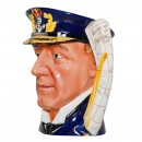 Admiral Lord Jellicoe Large Character Jug 2