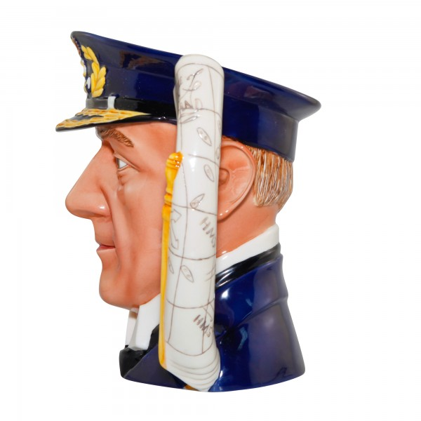 Admiral Lord Jellicoe Large Character Jug