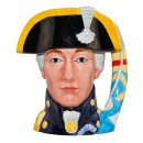 Admiral Lord Nelson Large Character Jug