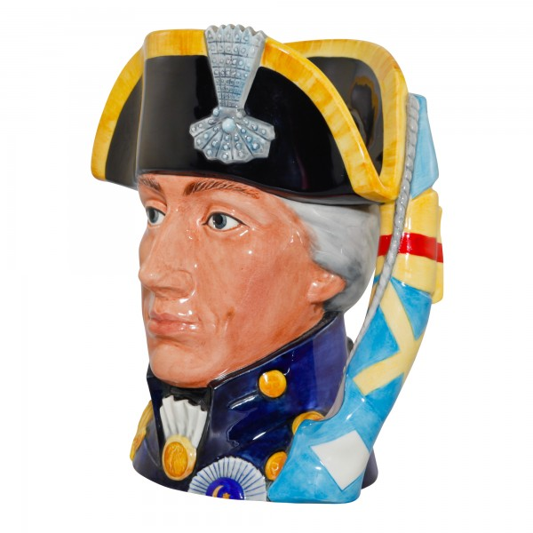 Admiral Lord Nelson (Factory Prototype Sample) Large Character Jug