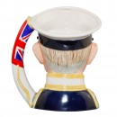 Admiral of the Fleet Earl Mountbatten of Burma Large Character Jug 5