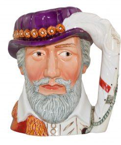 Sir Richard Grenville Large Character Jug