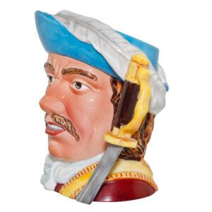 Admiral Robert Blake Large Character Jug