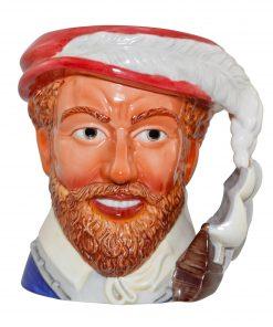 Sir Francis Drake Large Character Jug