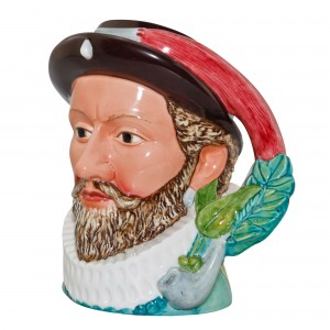 Sir Walter Raleigh Large Character Jug