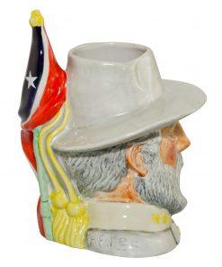 Robert E. Lee Large Character Jug