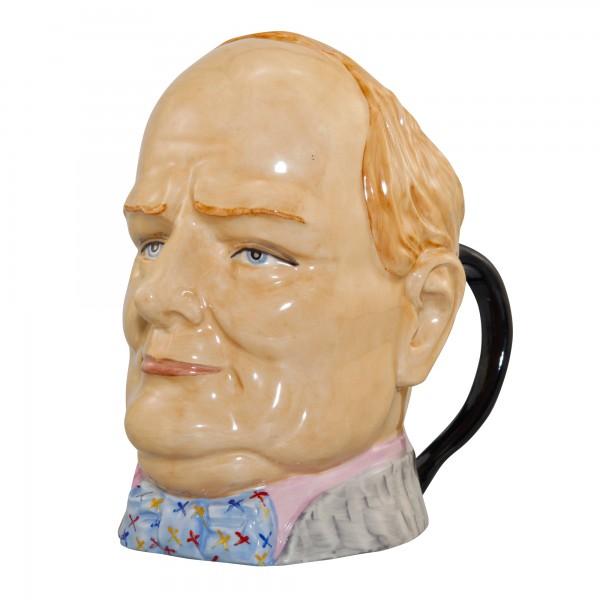 Winston Churchill Double Handle Character Jug (Artist Proof)