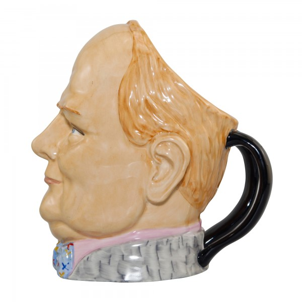 Winston Churchill Double Handle Character Jug (Artist Proof)
