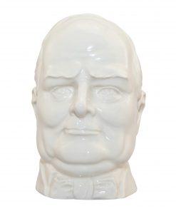 Winston Churchill (White) Double Handle Character Jug