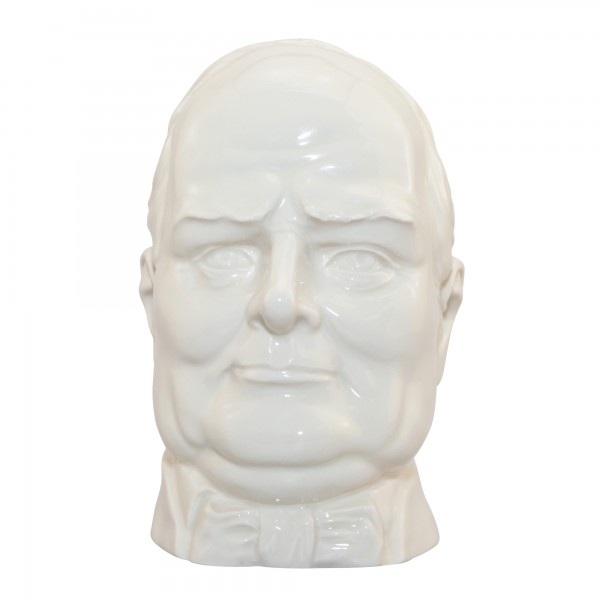 Winston Churchill (White) Double Handle Character Jug