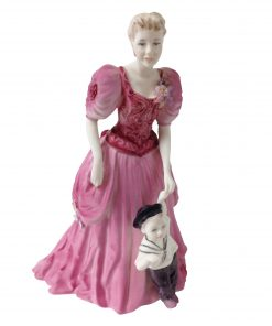 "A Helping Hand ""Togetherness"" - Coalport Figurine"