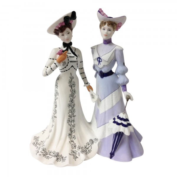 At The Flower Show CW691 - Coalport Figurine