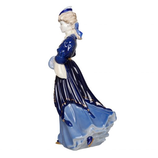 Lady Harriet The Royal Skating Party - Coalport Figurine