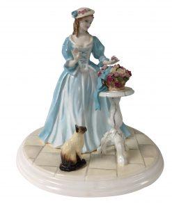 The Rose Arranger CW651 - Coalport Figurine