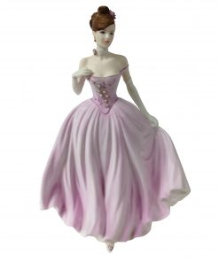 The Rose Ball - Coalport Figurine