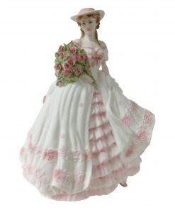Rose CW127 - Coalport Figurine