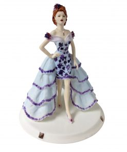 Violet V.I.P - Coalport Figurine