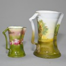 Royal Bayreuth Pitcher and Creamer 2