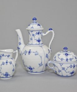 Royal Copenhagen Coffet Pot Sugar Bowl and Creamer