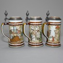 Villeroy and Boch Fairytale collection 3 Tankards