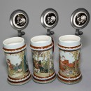 Villeroy and Boch Fairytale collection 3 Tankards 3