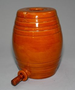 Doulton Lambeth Limited Spirit Barrel with Bunghole