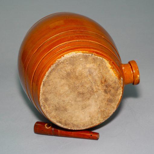 Doulton Lambeth Limited Spirit Barrel with Bunghole