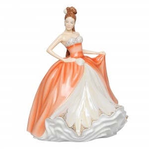 Amber - English Ladies Company Figurine