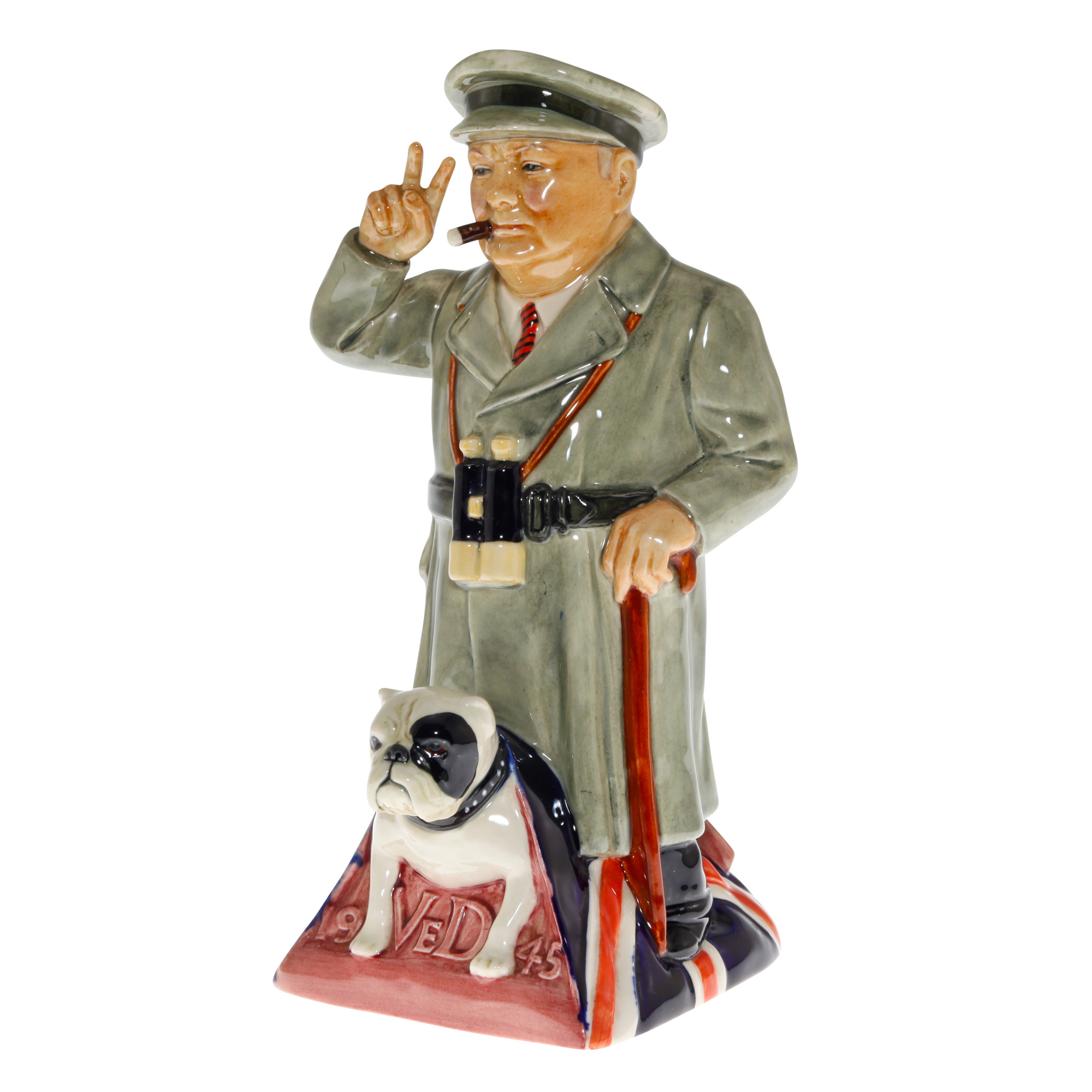 "Sir Winston Churchill Toby Jug ""Churchill Standing"""