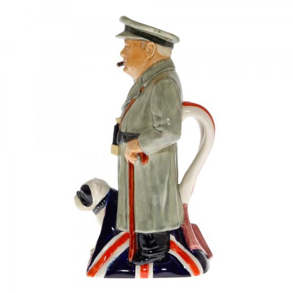"""Sir Winston Churchill Toby Jug """"Churchill Standing"""""""